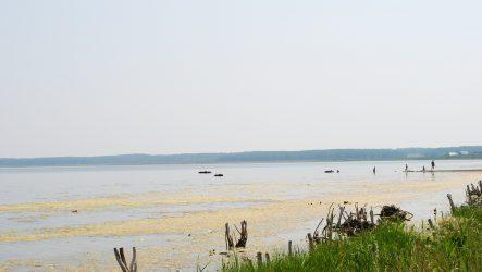 Купаемся в целебном озере  Шантропай
